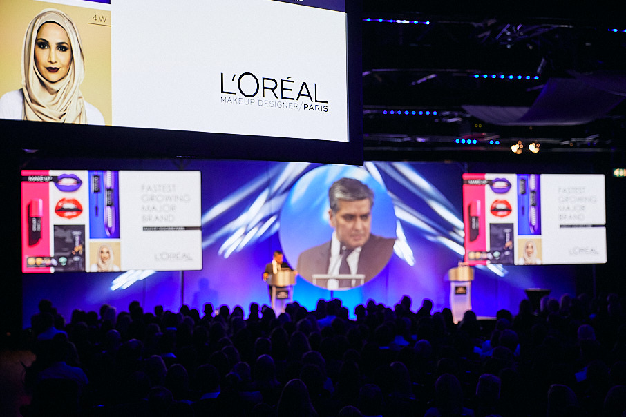 L'Oreal Connect Conference, AV display