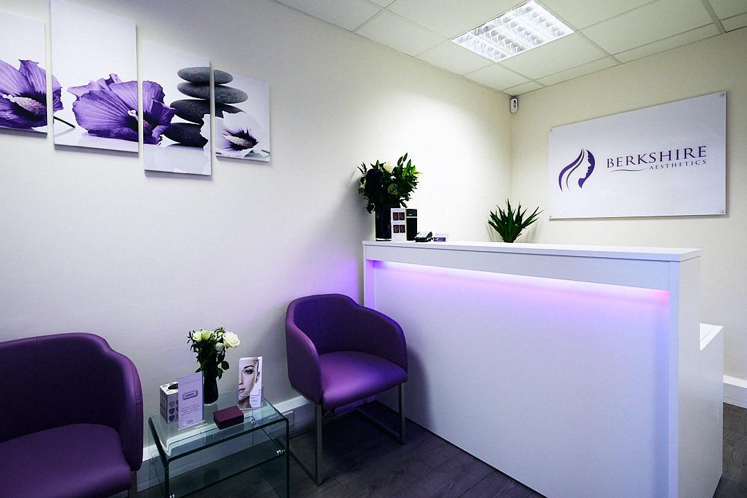 Interior shot of beauticians reception area